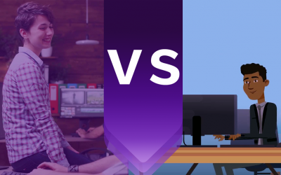 Animation vs Live action: Which Style is Most Suitable for your Company?